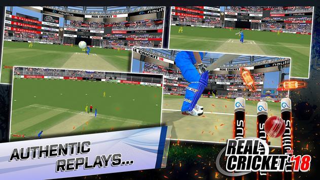 Real Cricket™ 18 screenshot 3