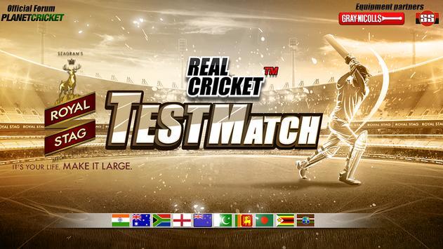Real Cricket™ Test Match पोस्टर