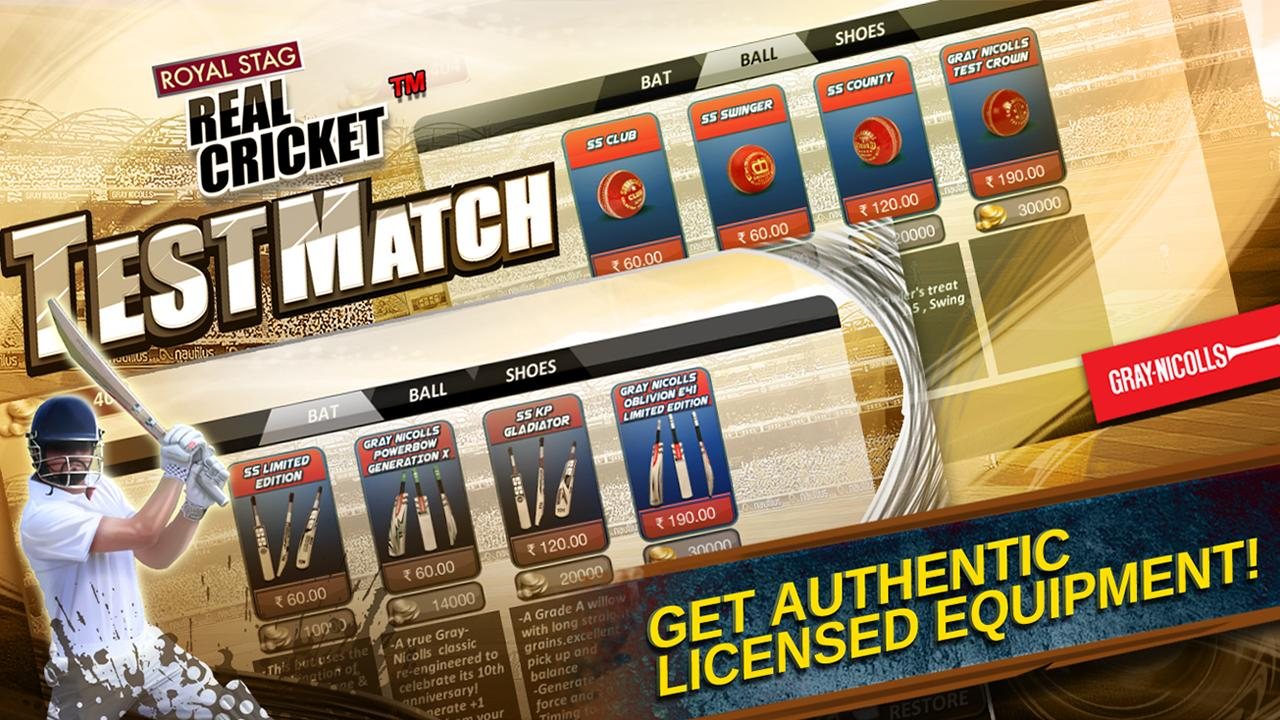 real cricket test match game download apkpure