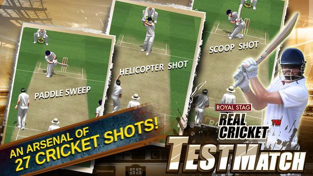 Real Cricket™ Test Match apk स्क्रीनशॉट