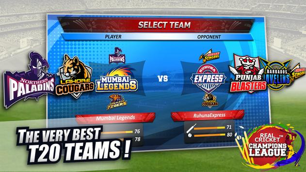 Real Cricket™ Champions League पोस्टर
