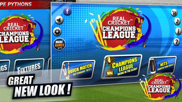 Real Cricket™ Champions League स्क्रीनशॉट 1