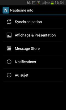 Nautisme info apk screenshot