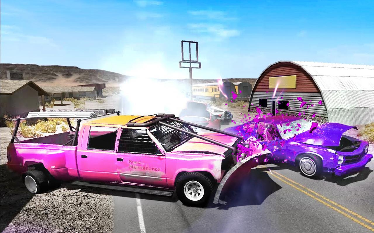 Extreme Car Crash Simulator For Android