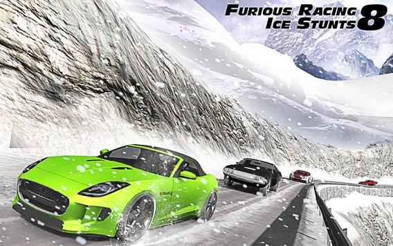 Furious Racing Ice Stunts 8 Cartaz