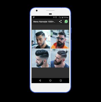 Mens Hairstyle 1000+ Collection screenshot 3