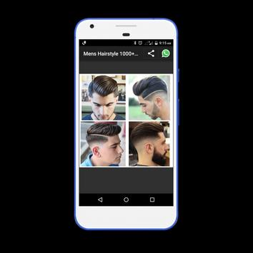 Mens Hairstyle 1000+ Collection screenshot 6