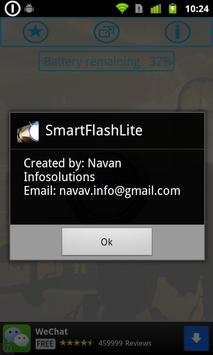 Smart Flash Lite apk screenshot