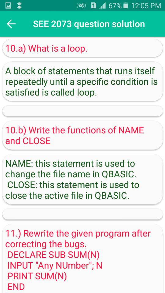 QBASIC Simplified for Android - APK Download