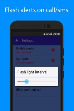Flash Alerts 2 on Call and SMS apk screenshot