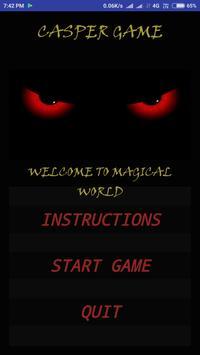 Casper(MIND GAME) poster