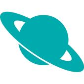 Saturno: Navegador web sencillo, rápido y privado. icon