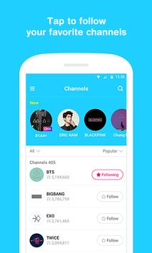 V – Live Broadcasting  App poster