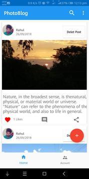 PhotoBlog screenshot 3
