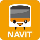 Multilingual Railway Map icon
