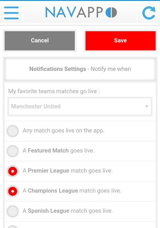 Navixsport for Android - APK Download