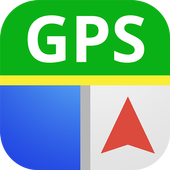 GPS Maps: Route finder & map icon