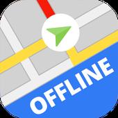 Автономные карты и система навигации иконка