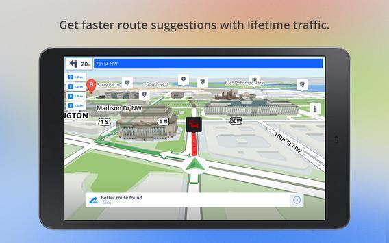 Автономные карты и система навигации скриншот приложения