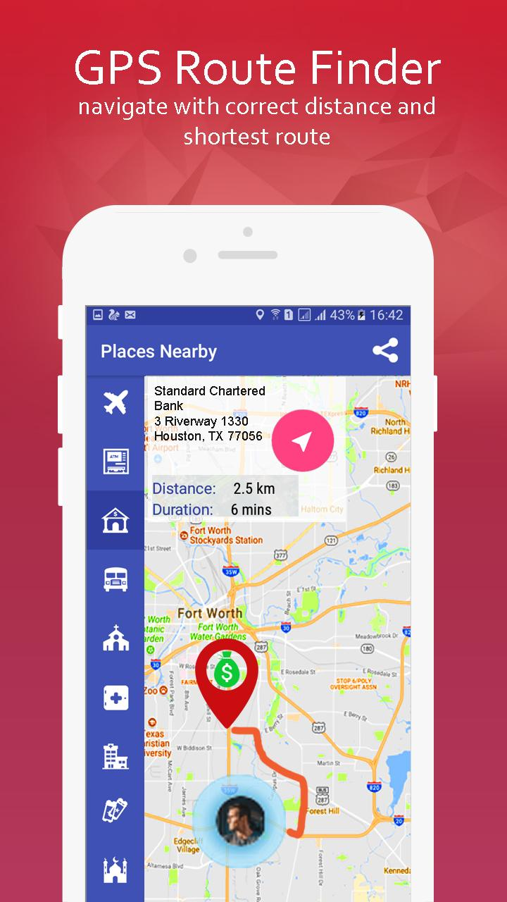 GPS Route Tracker- Maps, Directions and Traffic for Android ... on travel directions, scale directions, giving directions, compass directions, traffic directions, get directions, driving directions, mapquest directions,