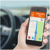 GPS Navigation & Traffic Maps Tracker icon