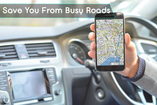 GPS Navigation & Traffic Maps Tracker screenshot 1