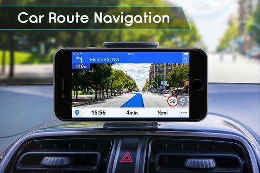 GPS Navigation & Traffic Maps Tracker screenshot 3