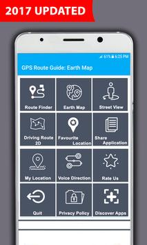 GPS Navigation Maps: Voice Map & Route Direction apk screenshot