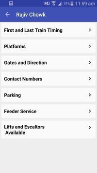 Delhi Metro Route Map and Fare apk screenshot