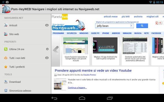 NavigaWeb Tech screenshot 4