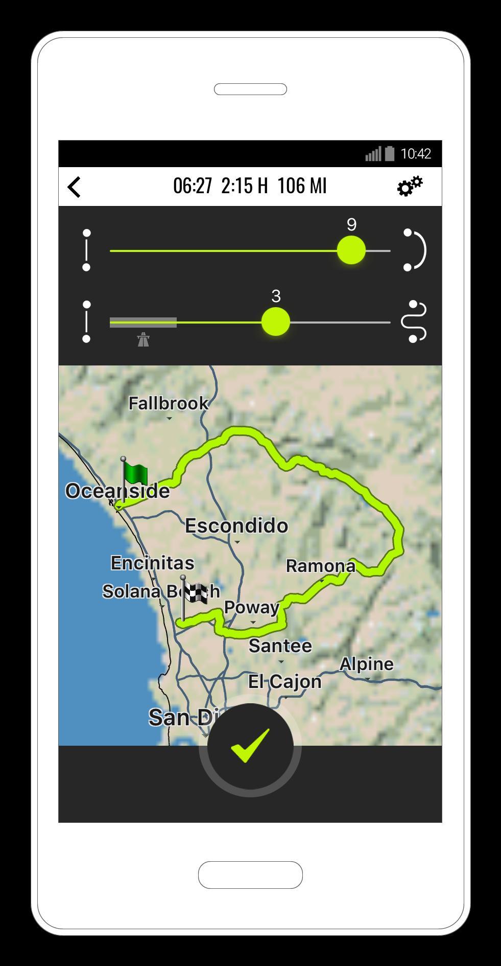 NAVIGON Cruiser - Motorcycle Navigation for Android - APK