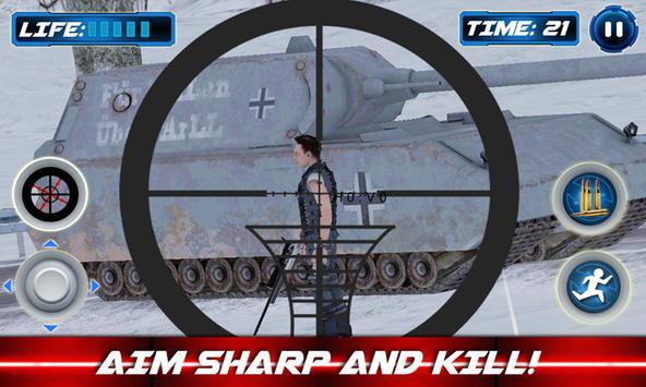 Navy Sniper Winter Soldier War screenshot 4