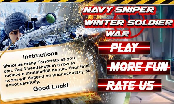 Navy Sniper Winter Soldier War poster
