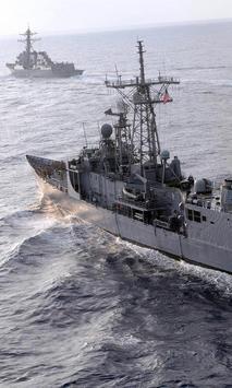 navy ship wallpaper poster