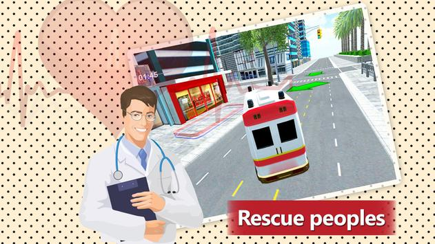 911 Ambulance Rescue Simulator Game 2018 poster