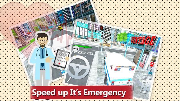 911 Ambulance Rescue Simulator Game 2018 screenshot 11