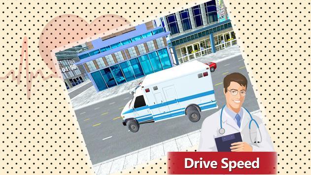 911 Ambulance Rescue Simulator Game 2018 screenshot 5