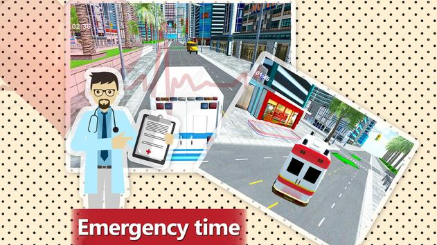 911 Ambulance Rescue Simulator Game 2018 screenshot 6