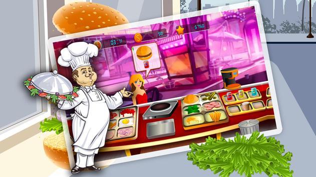 Restaurant Burger Cooking Mania-Fun and Adventure screenshot 9