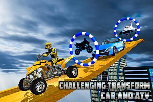 Transform Racing 2018: Car, Quad Bike & Airplane screenshot 1