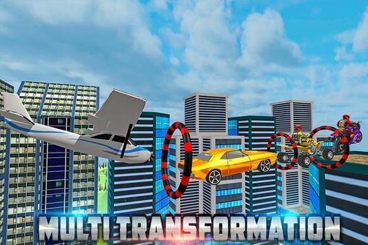 Transform Racing 2018: Car, Quad Bike & Airplane screenshot 3