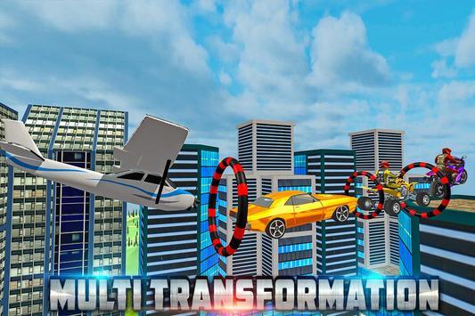 Transform Racing 2018: Car, Quad Bike & Airplane screenshot 7