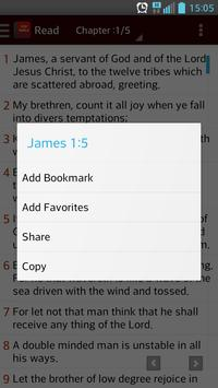 Bible [KJV] apk screenshot