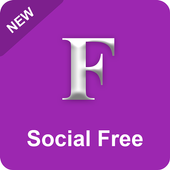 Purple Color for Facebook icon