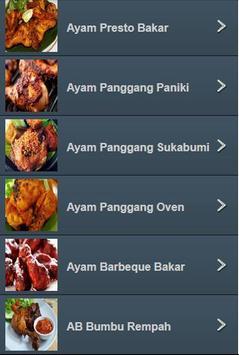 Resep Ayam Bakar Nusantara screenshot 6
