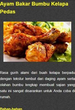 Resep Ayam Bakar Nusantara screenshot 1