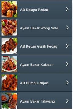 Resep Ayam Bakar Nusantara screenshot 2