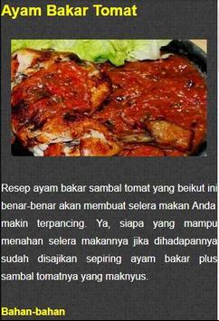 Resep Ayam Bakar Nusantara screenshot 3