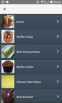 Resep Kue screenshot 1