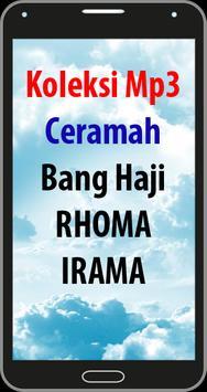 Ceramah Rhoma Irama Terbaik poster